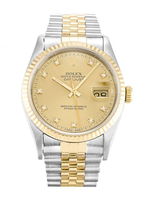 Rolex Datejust 16233 diamonds