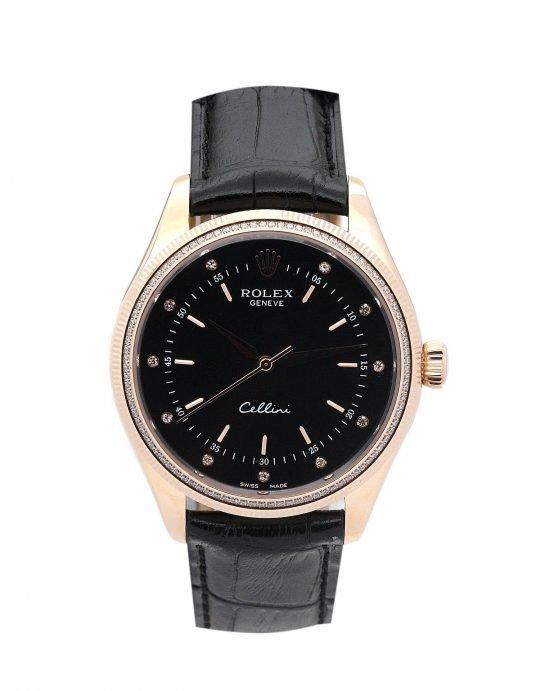 Rolex Cellini 4233/8 gold dial