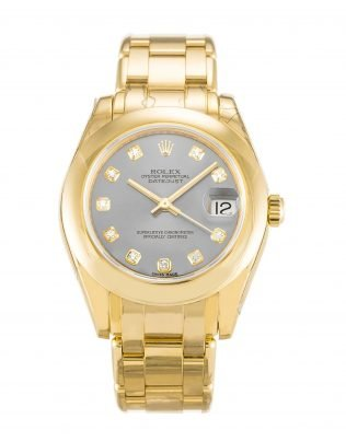 Rolex Pearlmaster fake gold and diamond watches