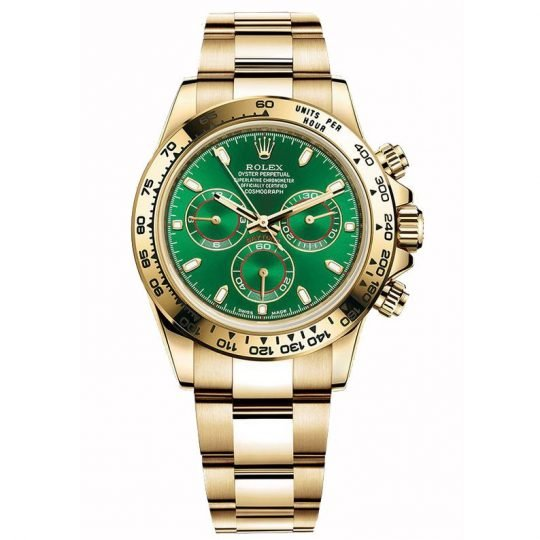 best replica rolex watches Daytona Green 116508
