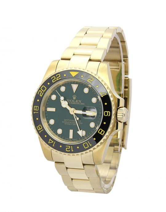 Rolex GMT Master II fake gold watch