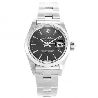 Rolex Datejust Black Dial Ladies 69160