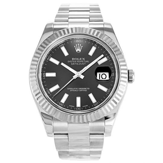 Rolex Datejust II Black 116334