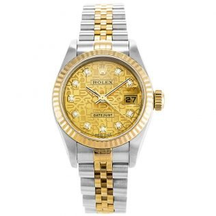 Rolex Datejust Computer Ladies 79173
