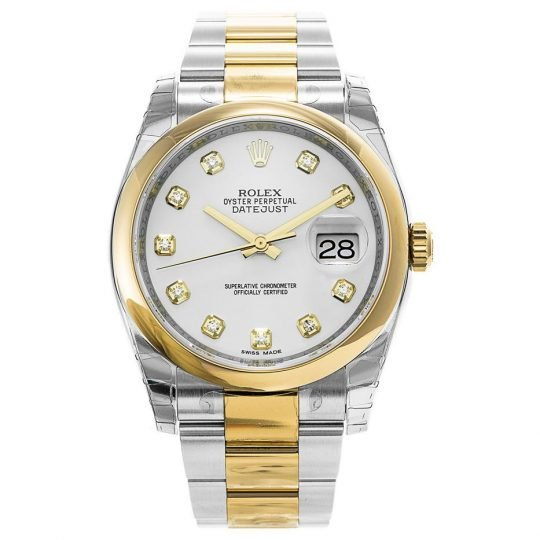 Rolex Datejust Domed Bezel 116203