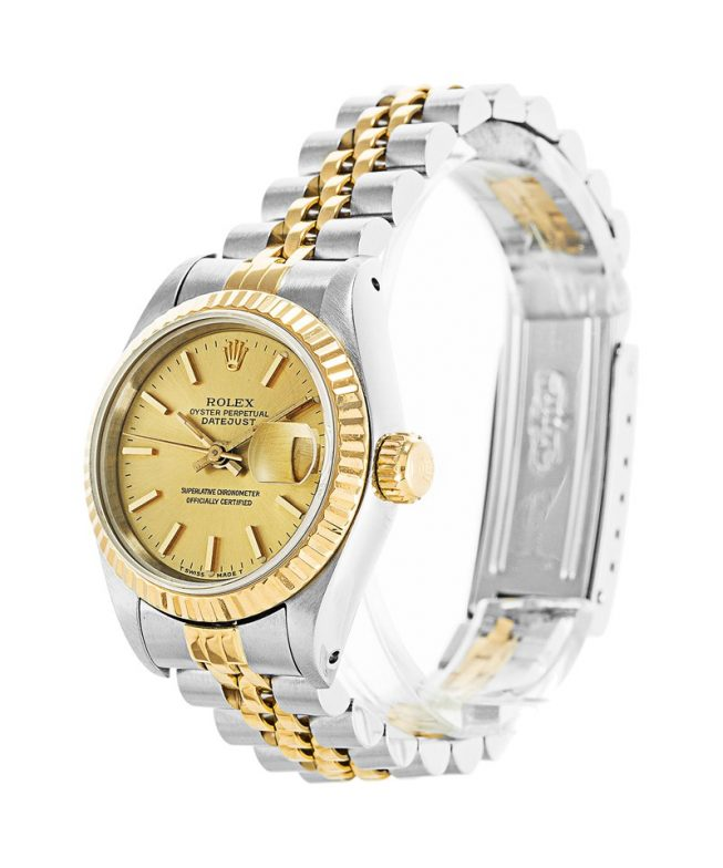 Rolex Datejust Ladies Two Tone 69173