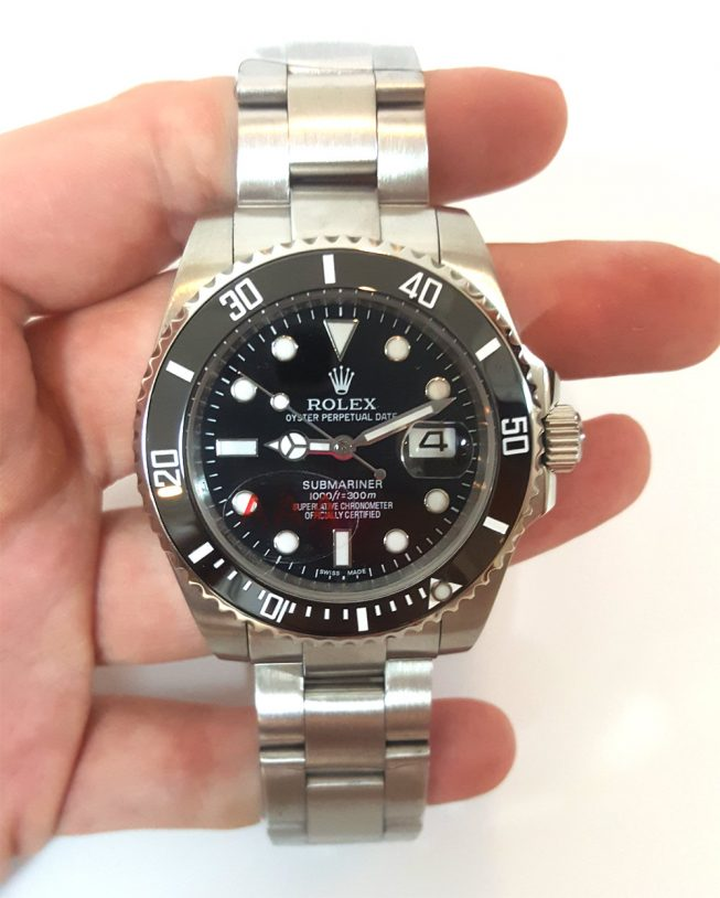 Rolex Submariner Black Dial 116610LN