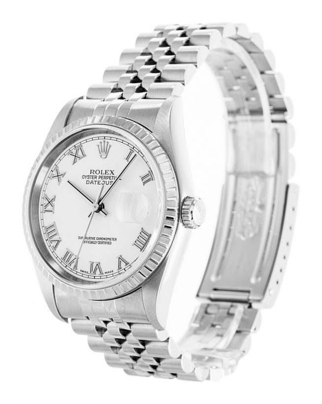 Rolex Datejust White 16220