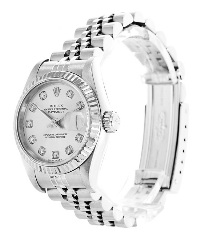 Rolex Datejust White Ladies 79174
