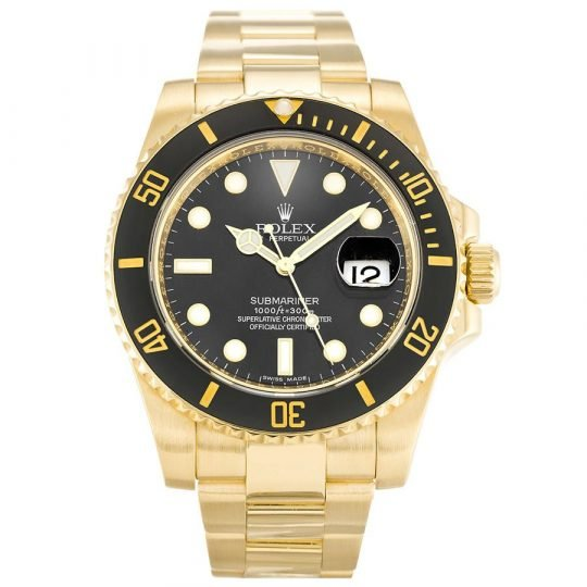 Rolex Submariner Black Dial 116618LN