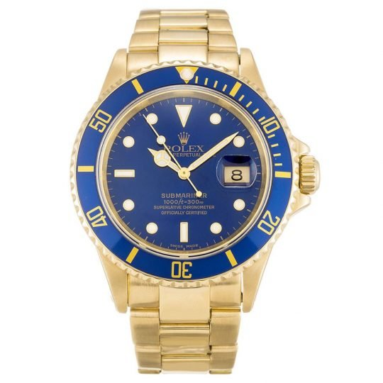 Rolex Submariner Blue Dial 16618