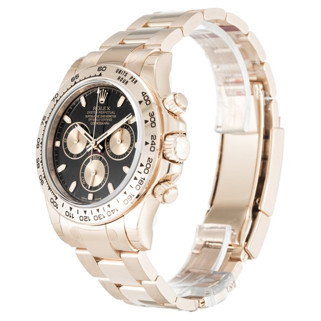 Rolex Daytona Black Dial 116505