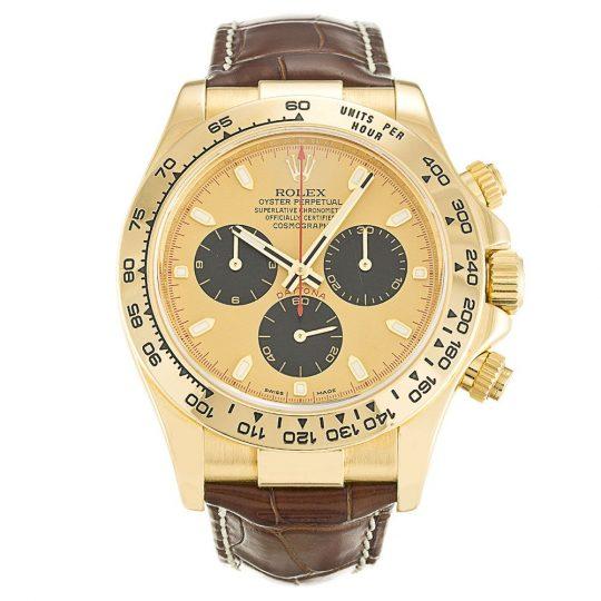 Rolex Daytona Black Dial 116518