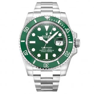 Best Replica Rolex Submariner Green Dial 116610LV