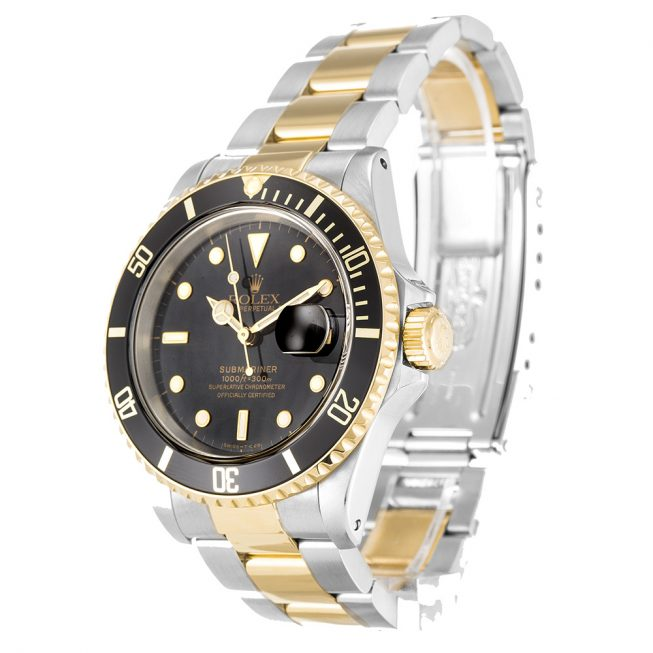 Rolex Submariner Black Dial 16613