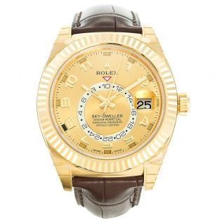 Rolex Sky-Dweller Gold 326138 Blog replica watches