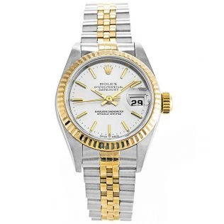 Rolex Datejust White Ladies 79173