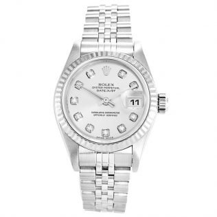 Rolex Datejust White Ladies 79174