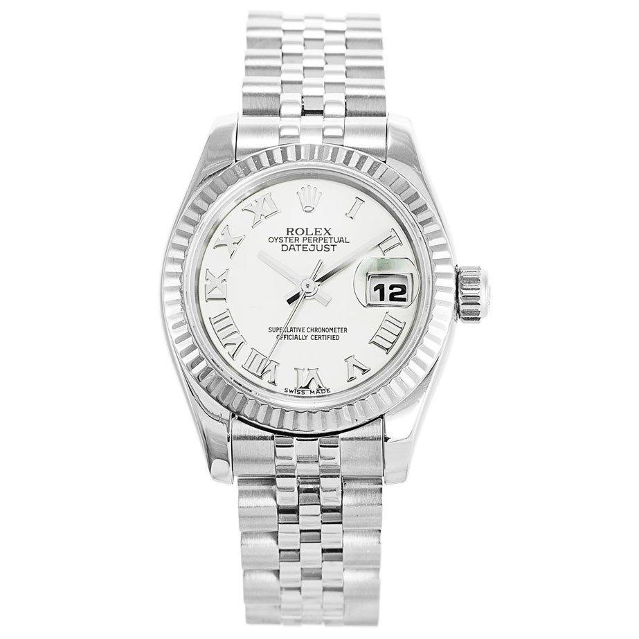 Rolex Datejust White Roman Numerals 179174