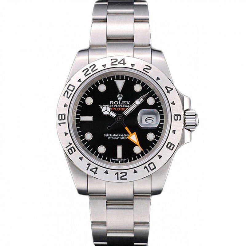 Men Rolex Explorer II Black 42mm 216570BKSO replica watches