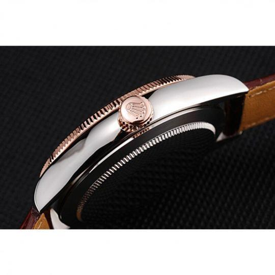 18k rose-gold plated bezel