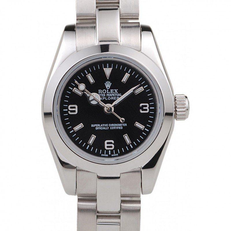 🇨🇭Rolex Explorer Stainless Steel Bezel Black Dial 42002 replica watches