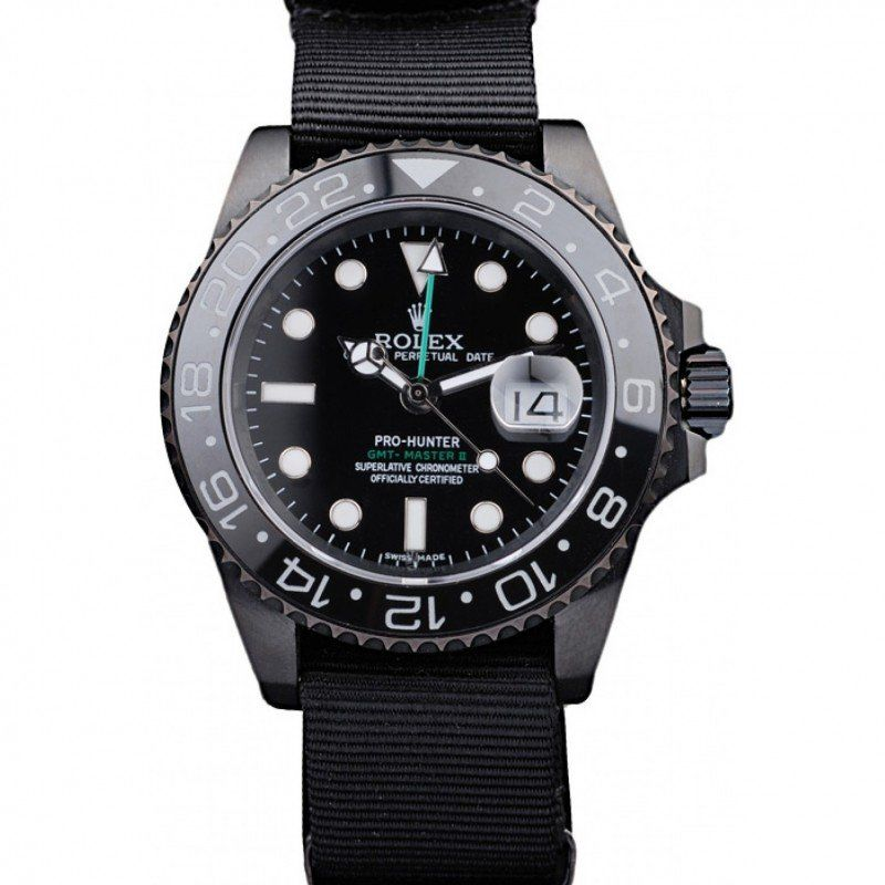 Men Rolex GMT Master II Black 116719 replica watches