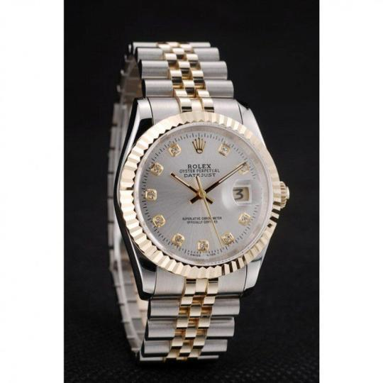 Round cutwork 18k yellow gold bezel