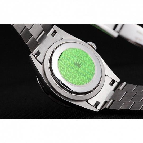 Diamond encrusted polished stainless steel bezel